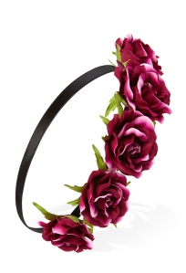 Dark Rose Flower Crown €4,90