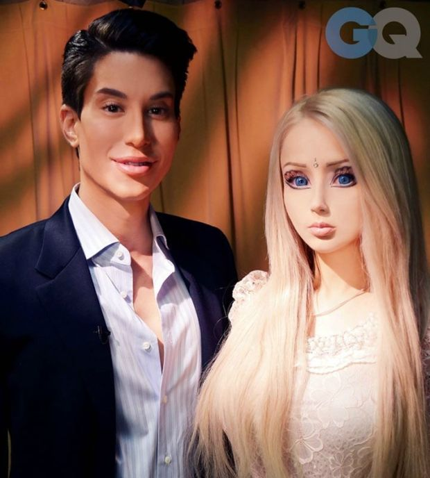 This Is Human Ken, And He Hates Human Barbie. Justin Jedlica has undergone over 140 plastic surgery procedures to resemble Ken.