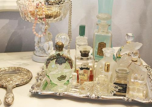 1.7 Vintage Perfume Bottles