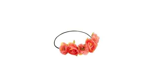 New Look Coral Exotic Flower Hair Garland € 6,99