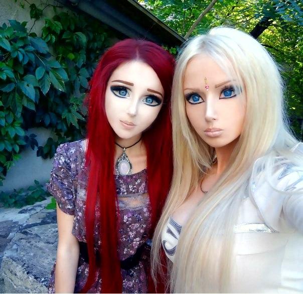 """Een """"selfie"""" samen met Valeria."""