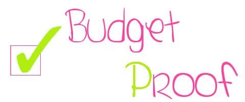 budgetproof