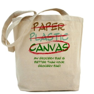 Eco shopping bags (look cool while helping the environment!)