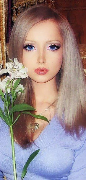 The 21-year-old Russian model, Valeria Lukyanova, looks like the most convincing real-life Barbie.