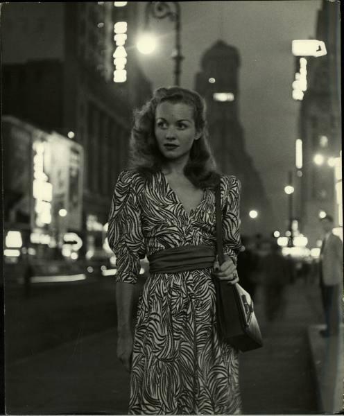 Barbara Laage, foto gemaakt door Nina Leen, 1946.
