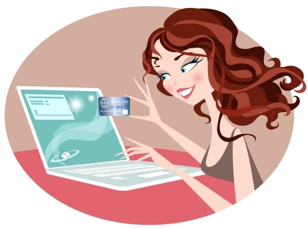 Online-shopping-girl