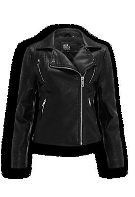 Zoals ik op mijn zestiende altijd in mijn spijkerjasje woonde, zo woon ik tegenwoordig in mijn zwarte biker jacket. Sterker nog, als het te warm is om hem te dragen, gaat hij hoe dan ook wél mee in mijn tas. Hij past overal bij, maar ik vind deze zelf het allerleukst in combinatie met skater dresses en skater skirts.  Deze biker jacket is van The Sting, en kun je