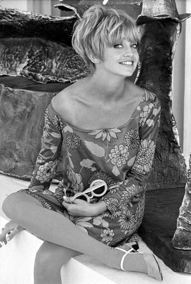 Goldie Hawn, 1960s.