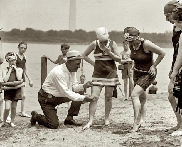 Tidal Basin, Washington DC, 30 juni 1922.