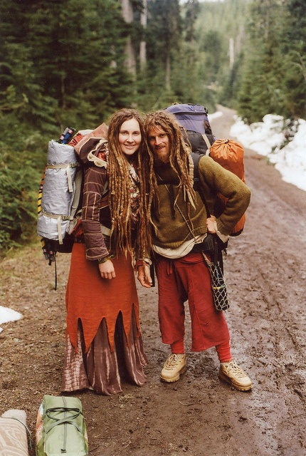 Hitchhiking Hippies.