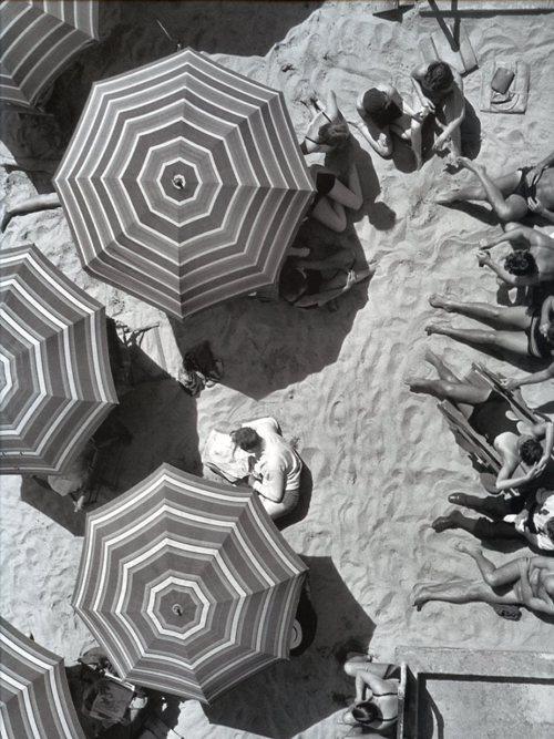 Santa Monica beach, 1920's.