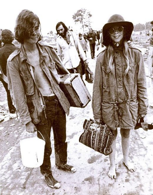 Ready for Woodstock.