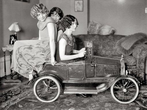 Pedal car! 1924.