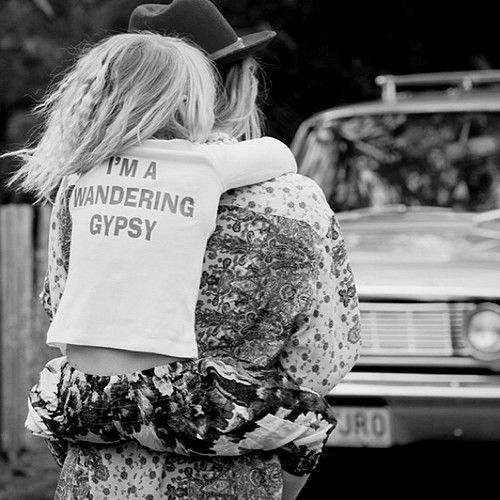 Micro fashion: I'm a wandering gypsy. <3