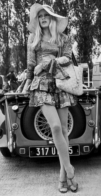 Brigitte Bardot, Boho Chic, 1960s.