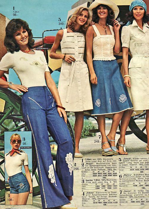 Summer fashion 1975.