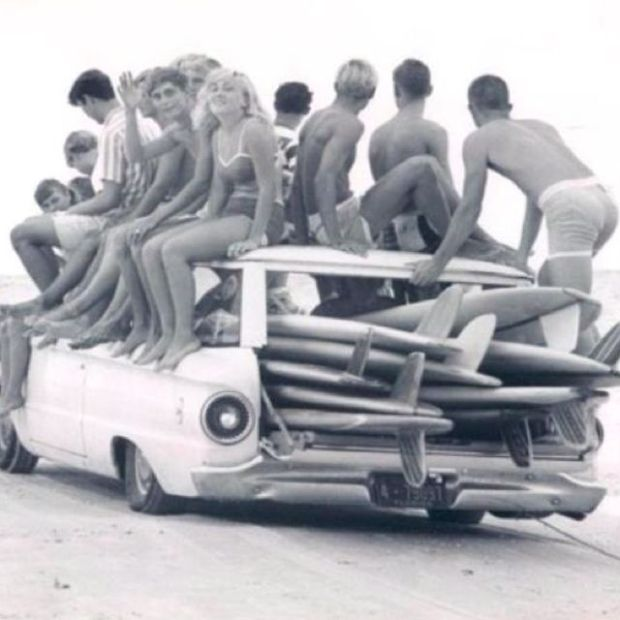 Mid 60's - Let's go surfing!