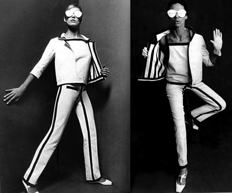 Space age look, Andre Courreges.