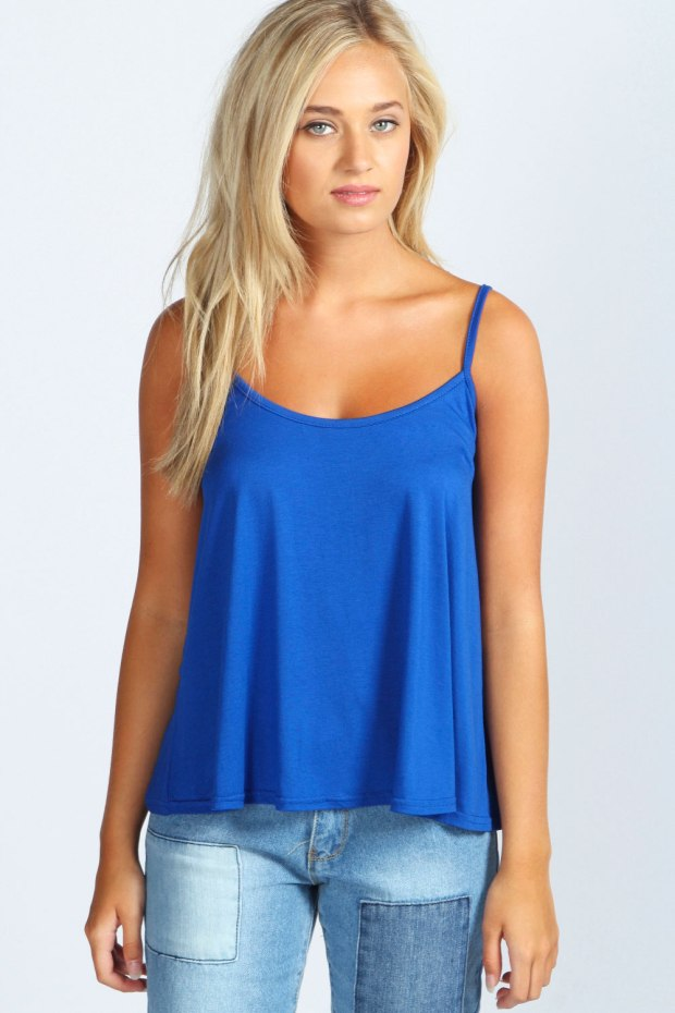 Alice Swing Vest in Cobalt Blue, €8,99