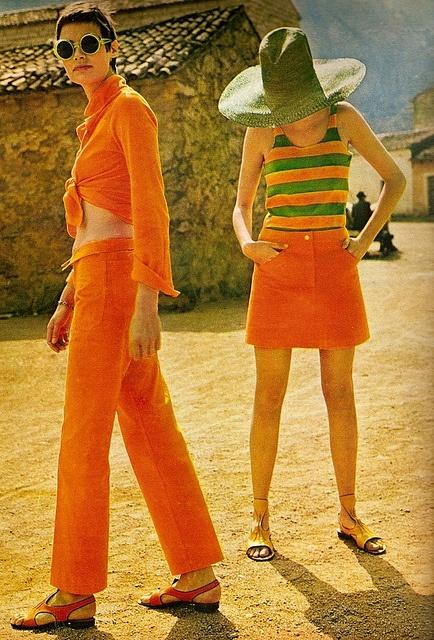 Summer Fashion Editorial, ELLE, July 1967.