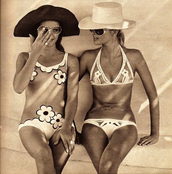 Swimwear 1970s.