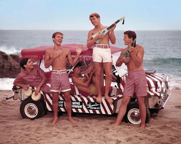 Fun in the sun, 1960s.