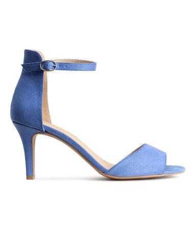 Sandaletten in Blauw, €19,99