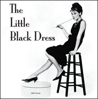 A wardrobe musthave, the little black dress.