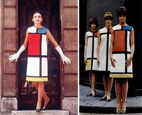 Yves Saint Laurent Mondrian Dress.