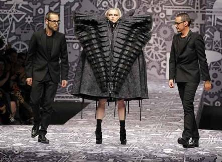 Viktor & Rolf, Paris Fashionweek, 2011.