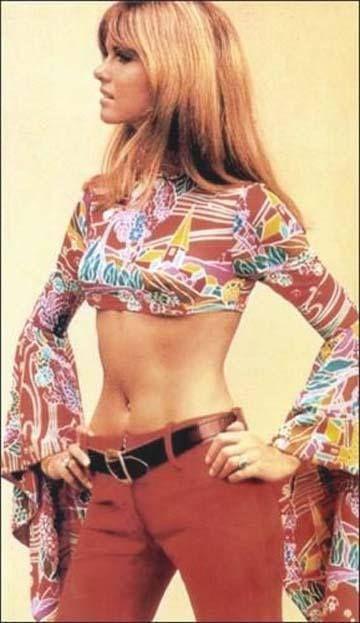 Fashion shoot uit de jaren 70.