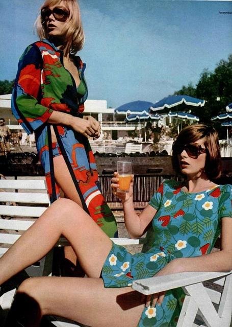 1970's beachwear.