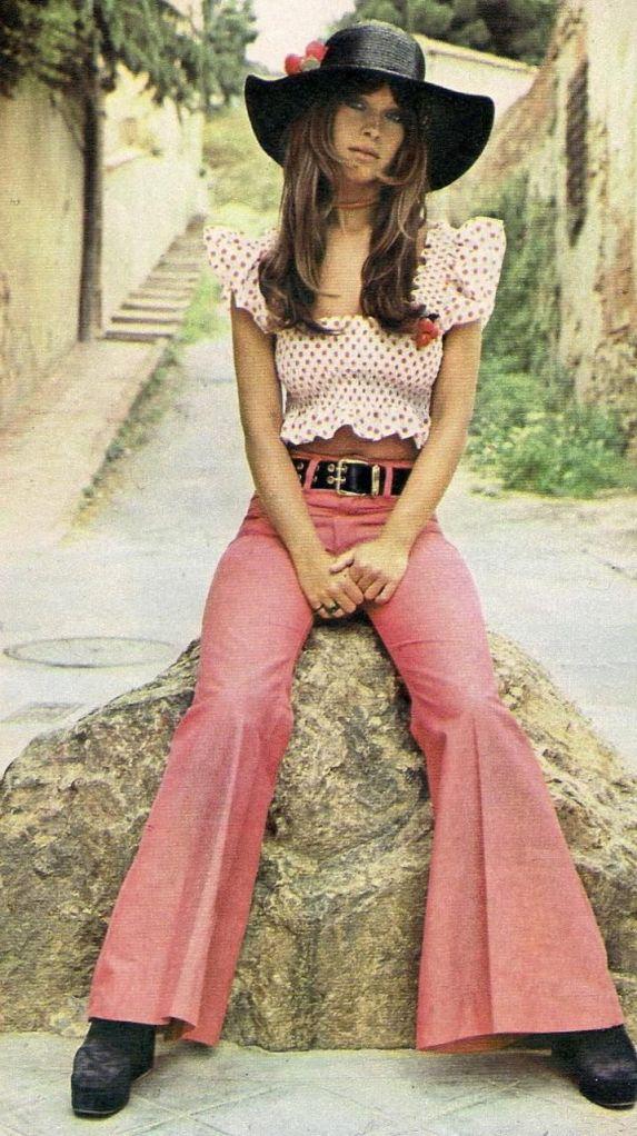 1970s boho hippie.