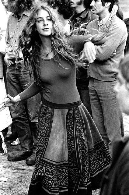 1970's hippie skirt.