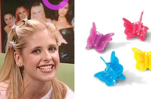 Zoiets dus....(Sarah Michelle Gellar aka Buffy, eind jaren 90)
