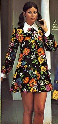 70s flower power jurkje.