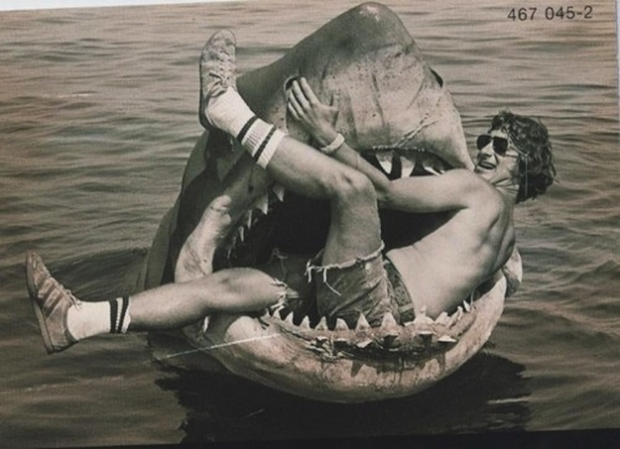 Stephen Spielberg in the Jaws of Jaws.