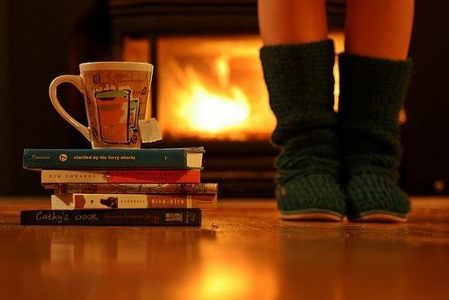 Books-tea-legwarmers