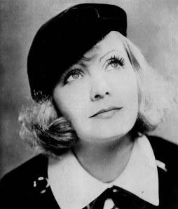 Greta Garbo was heel erg fan van berets. Staat haar goed ook!