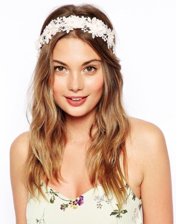 ASOS Floral Headband & Ribbon, €17,06.