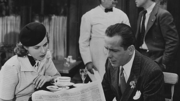 Ingrid Bergman had heel even een baret op in de vintage film Casablanca.