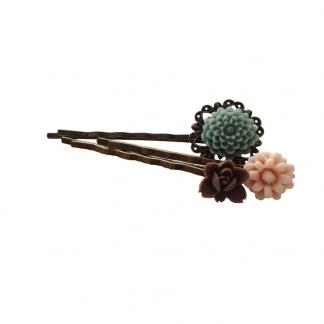 Pastel Flower Hairpins, €10,95. Deze zijn