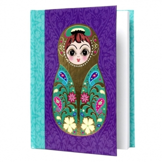 Matryoshka Notebook Small, €7,95. Deze is
