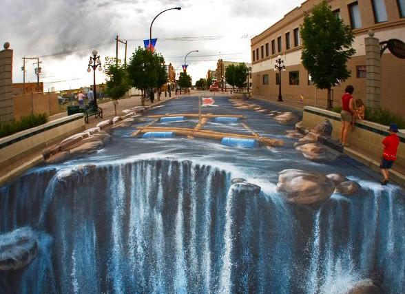 The-Waterfall_Painting_Edgar_Muller