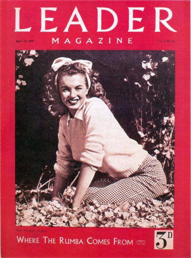 Norma Jeane. Haar eerste  cover in het buitenland.