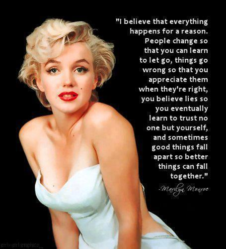 happens for a reason marilyn