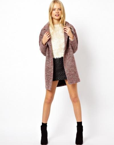ASOS Wrap Cocoon Coat WAS €114.29 NOW €57.14 (Sale item!)