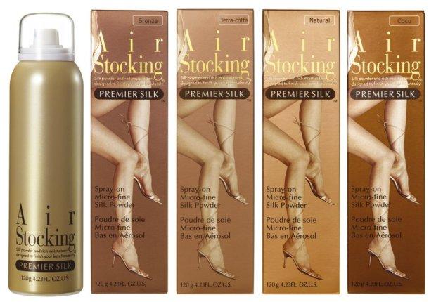 """Spray on panty' s met """"Air Stocking."""" Veelvuldig te koop aangeboden op eBay."""