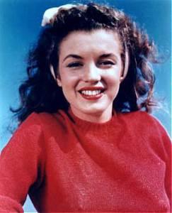 Norma Jane Baker, 16 jaar oud.
