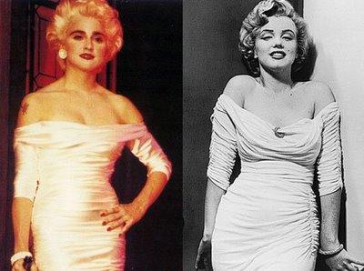 Madonna vs Marilyn.